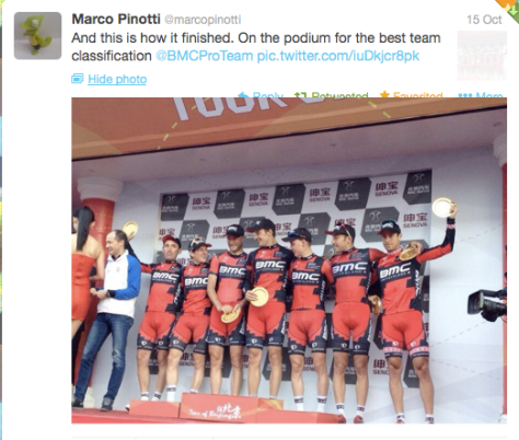 Pinotti team class
