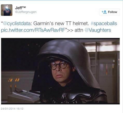 Garmin helmet darth