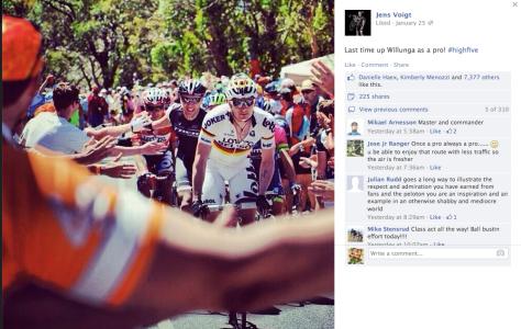 Jens on Willunga high five