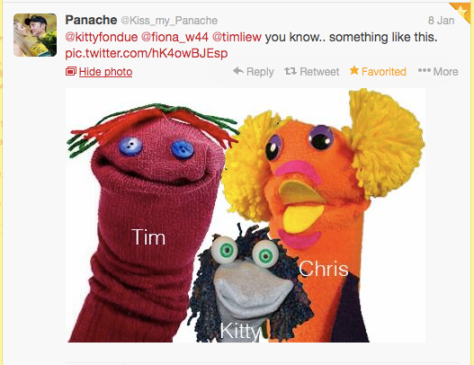 Sock puppet VeloVoices