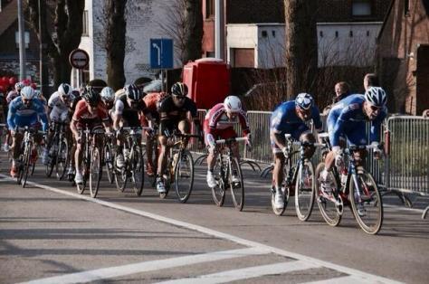 Sebastien leading Nacer on the final ramp (image: FDJ)
