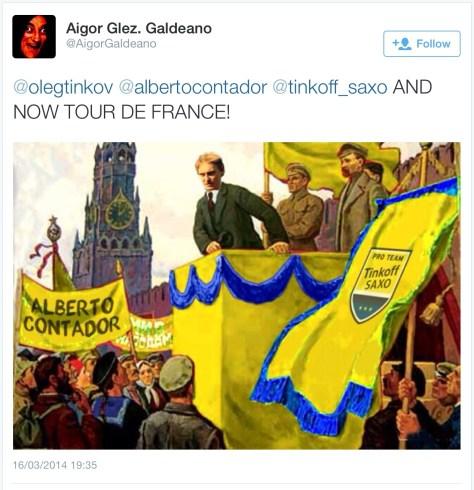 Oleg yellow Lenin