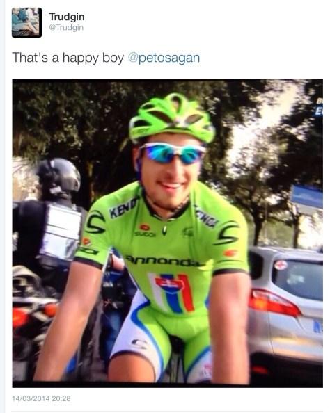 Sagan happy