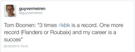 Boonen KBK success