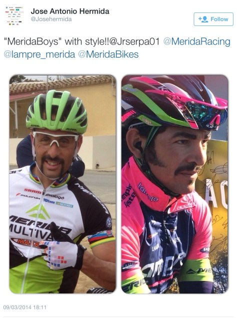Marvelous moustaches