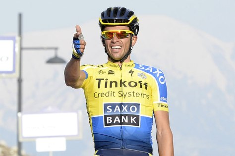 No stage wins and second overall, but Contador was still impressive at the Dauphine (Image: Tirreno-Adriatico)
