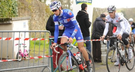 Arnaud Couteille in the break (image: FDJ)