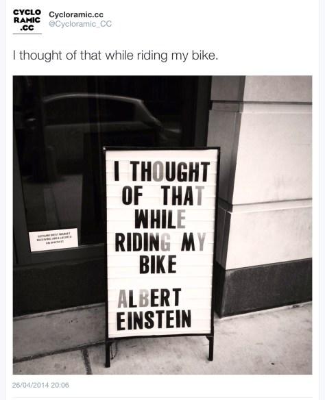 G Einstein bike