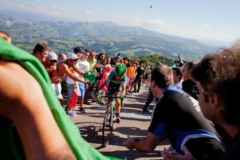 Amets Txurruka stage 18 Pena Cabarga Vuelta a Espana 2013