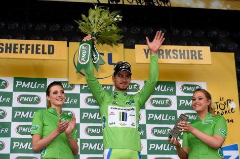 Green suits Peter Sagan  (Image: Cannondale)