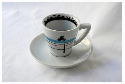 Velodrome Coffee & Cols espresso cup