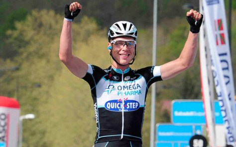 No surprise that Tony Martin won the ITT, but his first grand tour road stage victory made this a Tour to remember for him (Image: OPQS)