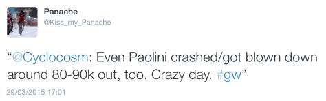 GW Paolini crash