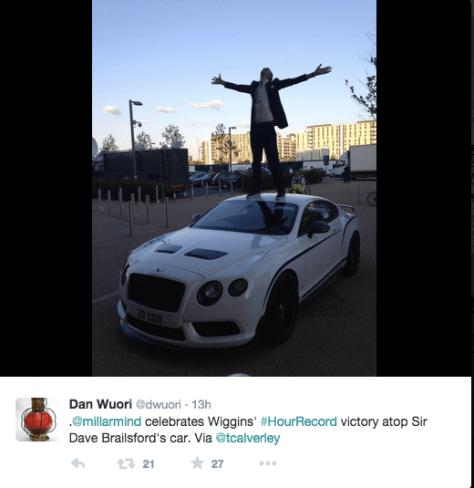 Wiggins millar car 1