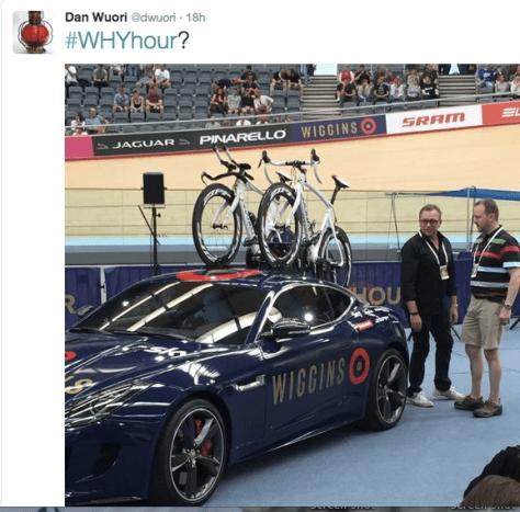 Wiggins start car Bruyneel