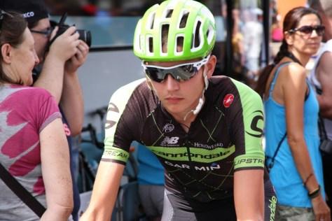 Joe at the 2015 Vuelta