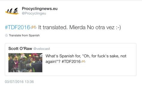 Contador crash