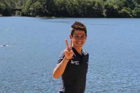 Rca winning smile: Esteban Chaves (image: Richard Whatley0