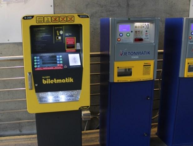 Automat biletowy w Stambule