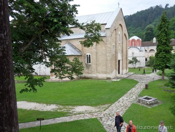 W monastyrze Studenica