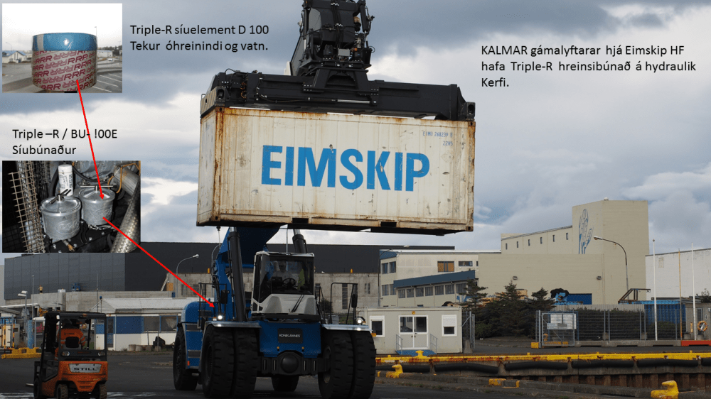 Eimskip uses Triple R Products