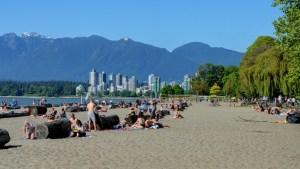 Kitsilano Beach, Vancouver, BC, Canada