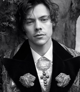 Harry Styles for Gucci's Cruise 2019 Men's Tailoring Campaign