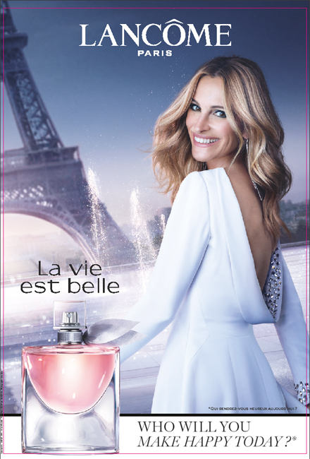 The New Chapter Of La Vie Est Belle, Lancôme, with Julia Roberts