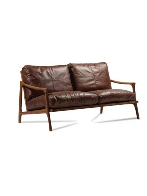 Hermes Leather Sofa