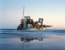 Ocean Warwick Oil Platform, Dauphin Island, Alabama, 2005