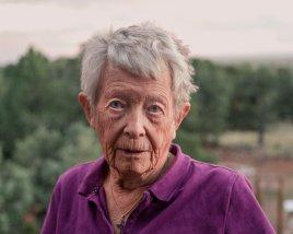 Kiara, once a Catholic nun, left the sisterhood and later felt drawn to Crestone.