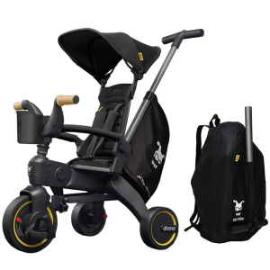 Doona Liki Trike S5 with carry bag to transport the tricycle