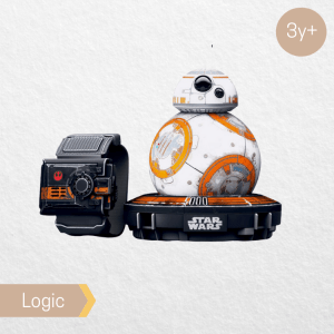 Sphero BB 8 with force band, available for rental