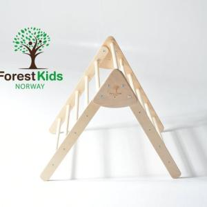 Forest Kids Pikler Triangle, made in Norway. Available for rental from Velvetgear Singapore