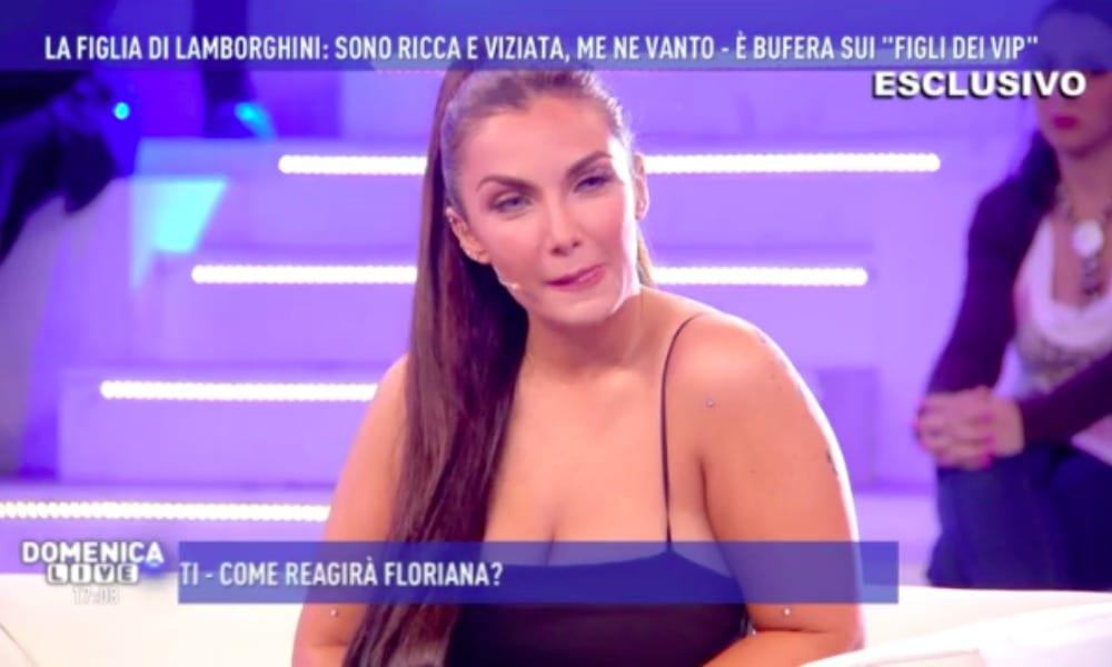 Domenica Live tutti contro lereditiera Elettra Miura Lamborghini VIDEO  Velvet Gossip