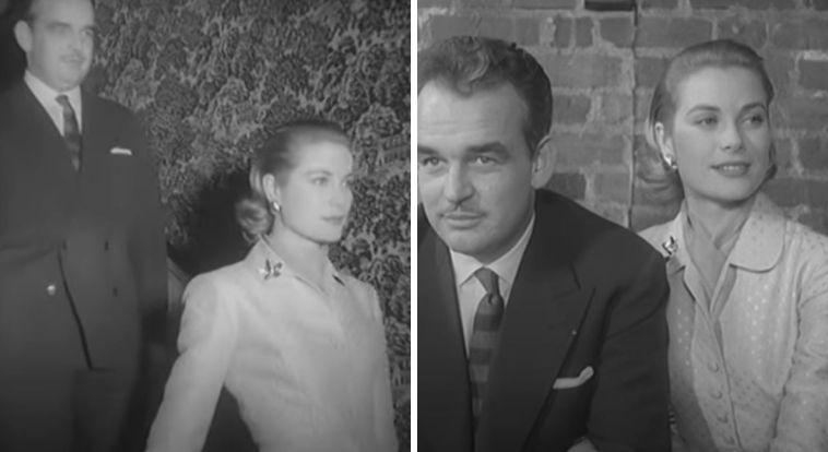 L'abito che Grace Kelly indossò quando annunciò il fidanzamento con il principe di Monaco