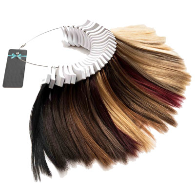 Hair Color Ring by Velvet Hair Extensions