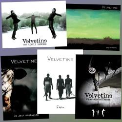 Lot de cartes postales Velvetine