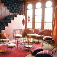 Moroccan Living Room | Velvet Palette