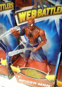 Whipping Web Chuk Spiderman