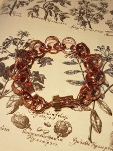 wacky-wednesday-oak-and-chain-Solid-Copper-Pagan-Rosary-Bracelet