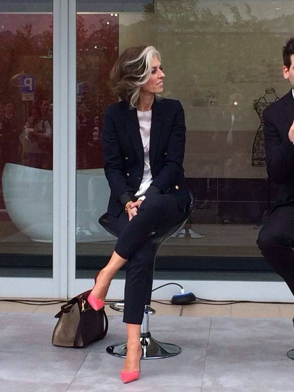 Paola Marella Amo la casa la moda e il mio ciuffo bianco  Velvet Style  VelvetStyle