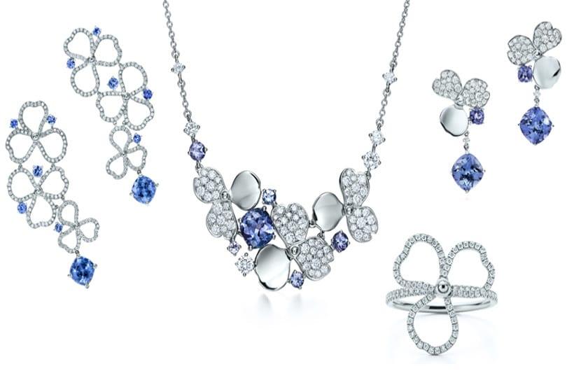 Tiffany Paper Flowers: la nuova collezione di gioielli