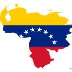 Flag Map Of Venezuela Free Vector Maps