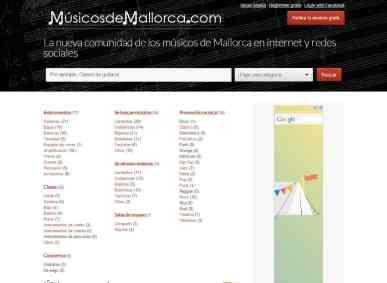 Diseño web en Mallorca - Músicos de Mallorca