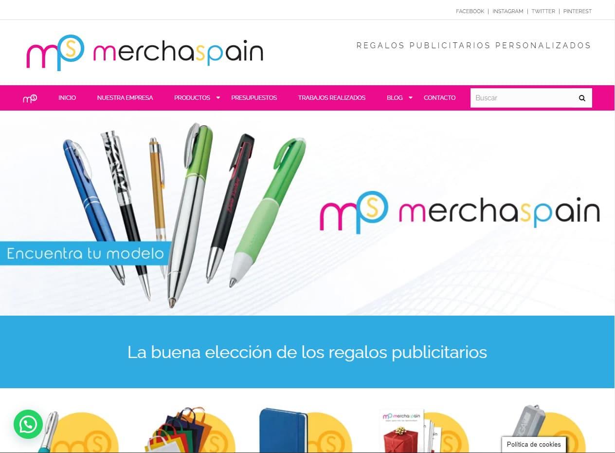 Diseño web y tiendas online en Mallorca - Merchaspain
