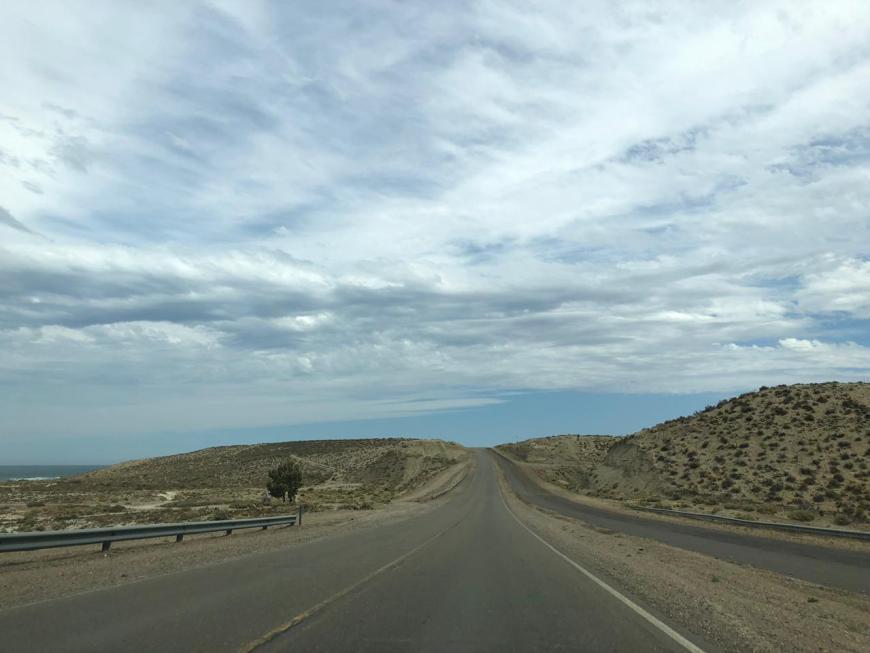 estrada Trelw a Rio Gallegos