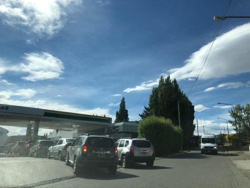 Posto de gasolina em El Calafate