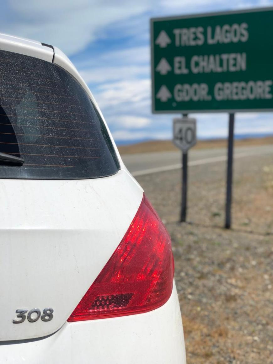 viagem de carro pela patagônia