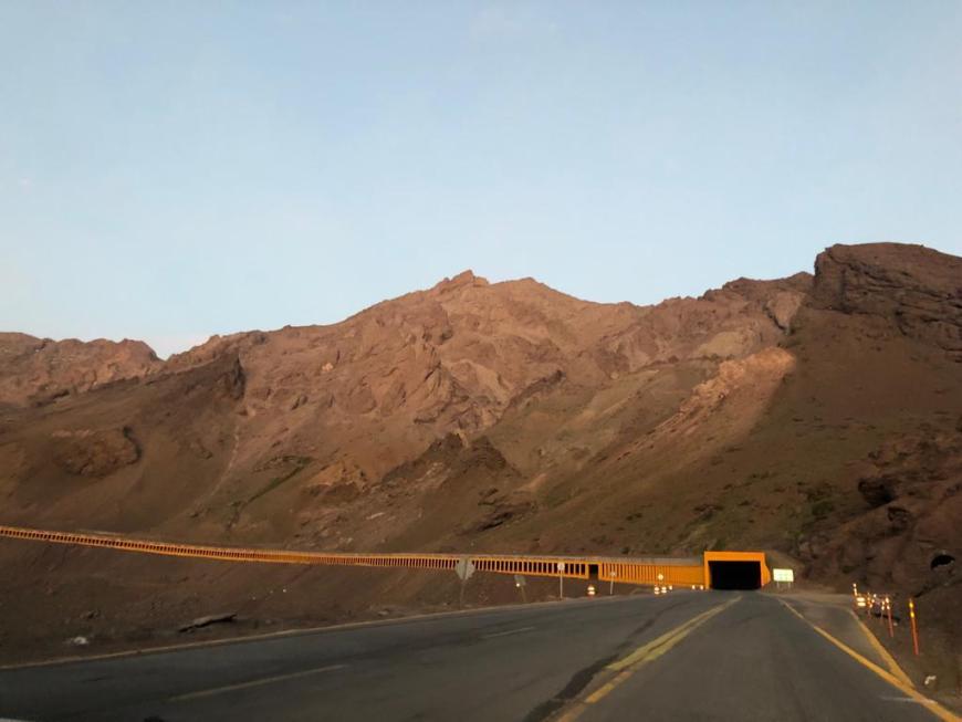 Estrada Cordilheira dos Andes